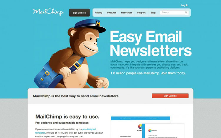 MailChimp-Email Marketing Software