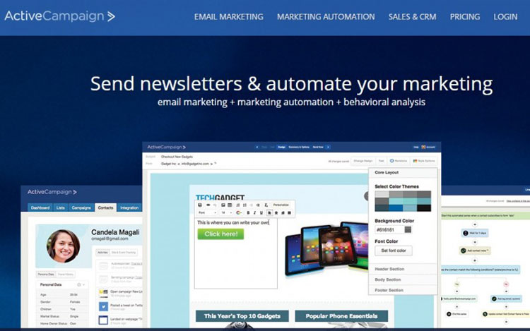ActiveCampaign-Email Newsletter Software